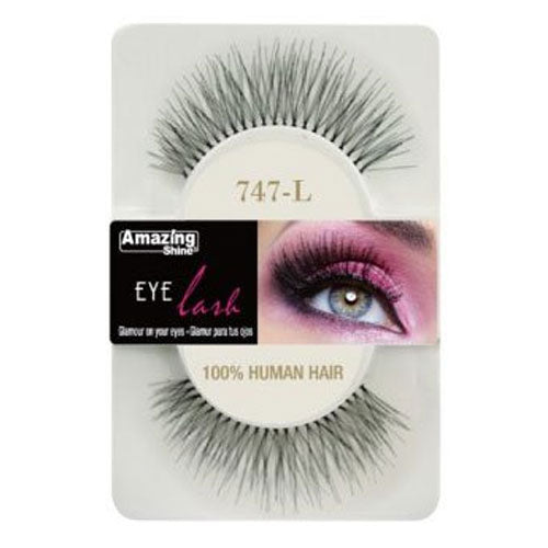 Amazing Shine Human Hair Eyelashes 747-L