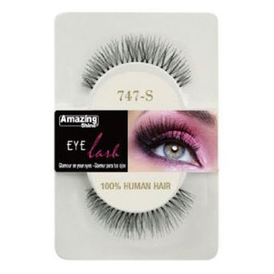 Amazing Shine Human Hair Eyelashes 747-S