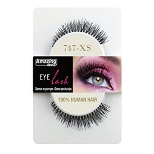 Amazing Shine Human Hair Eyelashes 747-XS