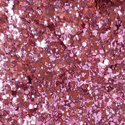 Biodegradable Pink Festival Glitter (Metallic Chunky Glitter Mix) - BioPixie