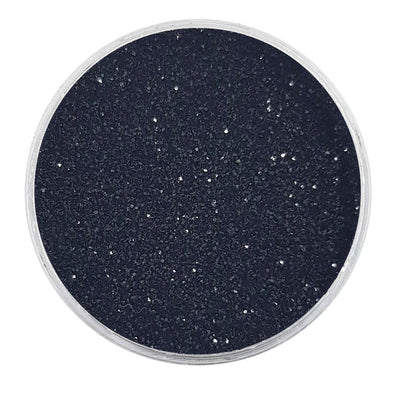 MUOBU Biodegradable Black Glitter - Fine Metallic Glitter