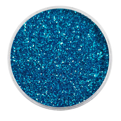 MUOBU Biodegradable Sky Blue Glitter - Fine Metallic Glitter
