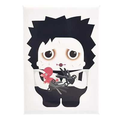 Edward Scissorhands Fridge Magnet