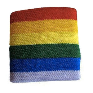 Gay Pride Rainbow Sweatband