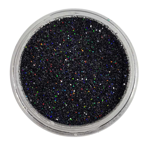 Gunpowder Plot - Black Holographic Loose Fine Glitter