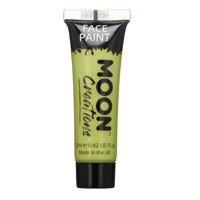Moon Creations Face & Body Paint - Lime Green