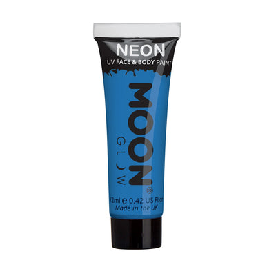 Moon Creations UV Neon Face & Body Paint - Blue