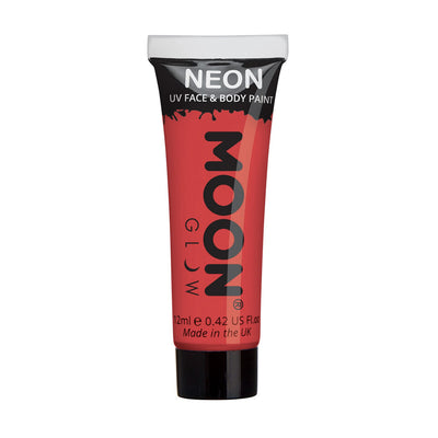Moon Creations UV Neon Face & Body Paint - Red