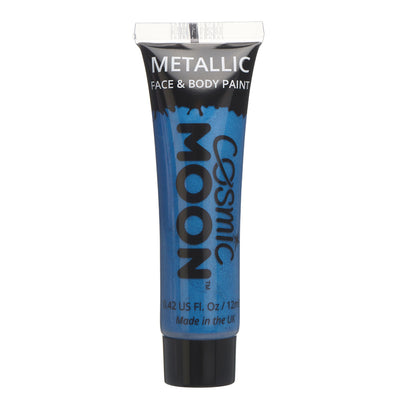 Moon Creations Metallic Face & Body Paint - Blue
