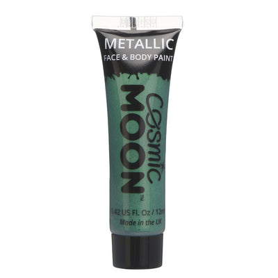 Moon Creations Face & Body Paint - Metallic Green