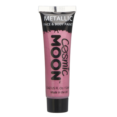 Moon Creations Face & Body Paint - Metallic Pink