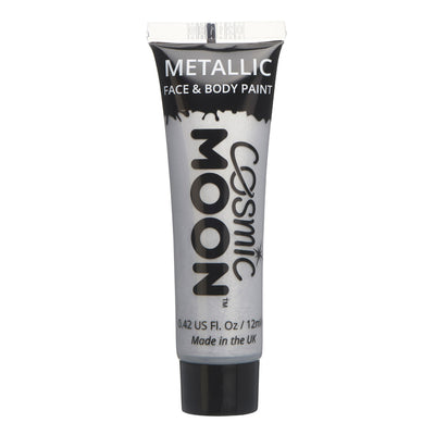 Moon Creations Face & Body Paint - Metallic Silver