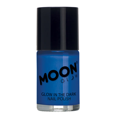 "Moon Glow ""Glow In The Dark"" Nail Polish - Blue"