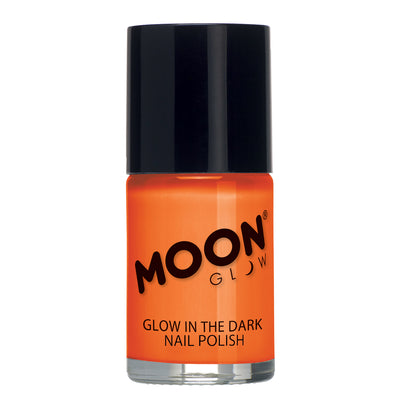 "Moon Glow ""Glow In The Dark"" Nail Polish - Orange"