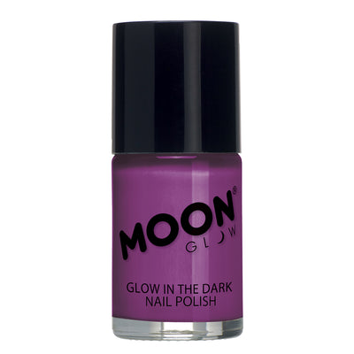 "Moon Glow ""Glow In The Dark"" Nail Polish - Purple"