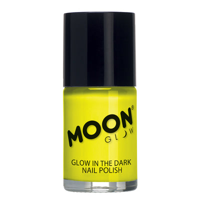 "Moon Glow ""Glow In The Dark"" Nail Polish - Yellow"