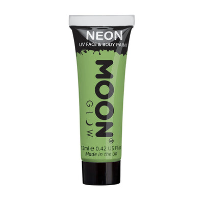 Moon Creations UV Neon Face & Body Paint - Pastel Green