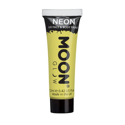 Moon Creations UV Neon Face & Body Paint - Pastel Yellow