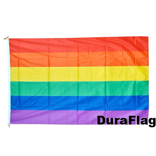 Gay Pride Rainbow Flag (5ft x 3ft Duraflag®)