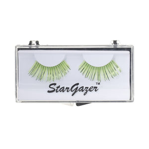 Stargazer Festival False Lashes 07 - Pale Green & Metallic Foil