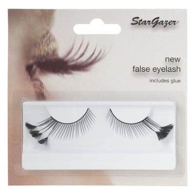 Stargazer Feather Festival False Lashes 44 - Black With Feathers