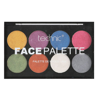 Technic Face Palette Face Paint - Metallic