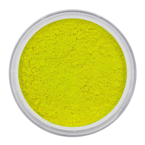 Vegan Mica Pigment Powder 01 - UV Electric Yellow