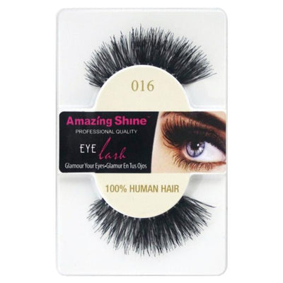 Amazing Shine Human Hair False Eyelashes 16