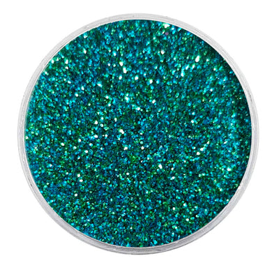 MUOBU Biodegradable Sky Blue & Green (Aqua) Glitter - Fine Metallic Glitter