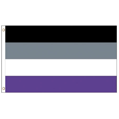 Asexual Pride Flag (3ft x 2ft Premium)