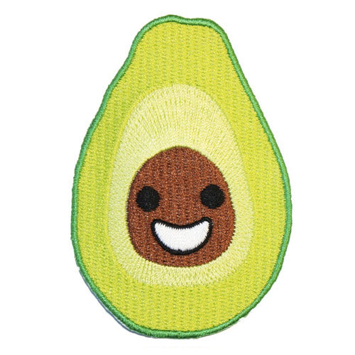 Avocado Iron-On Festival Patch