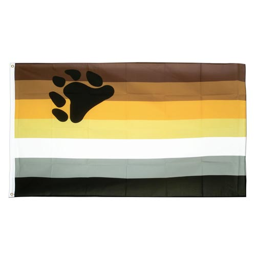 Bear Pride Flag (5ft x 3ft Premium)