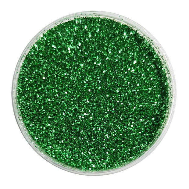 Biodegradable Green Glitter (Fine Metallic Glitter) - BioEmerald Envy