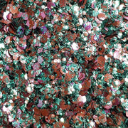 Biodegradable Mixed Festival Glitter (Metallic Chunky Glitter Mix) - BioMars