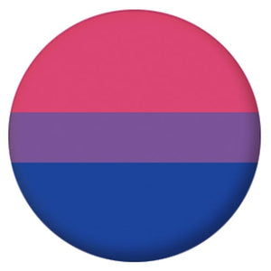 Bisexual Pride Small Pin Badge
