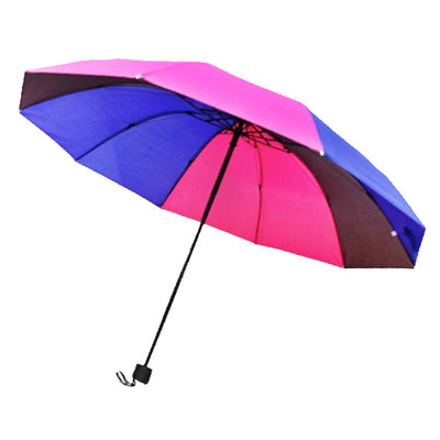Bisexual Flag Colours Folding Umbrella