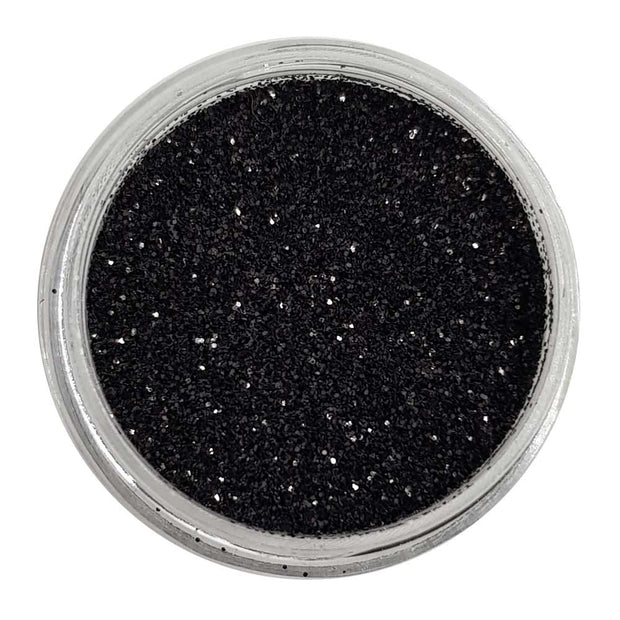 Black Magic - Black Metallic Loose Fine Glitter
