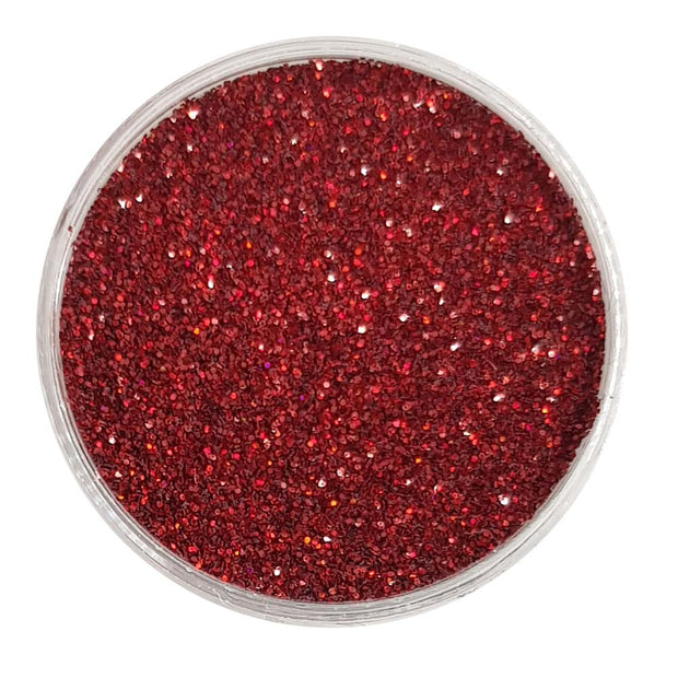 Red Glitter (Fine Holographic Glitter) - Bloody Mary
