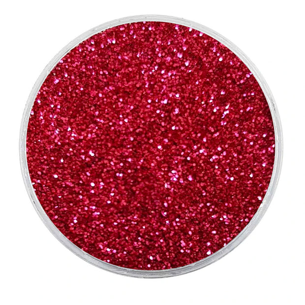 MUOBU Biodegradable Blush Red Glitter - Fine Metallic Glitter