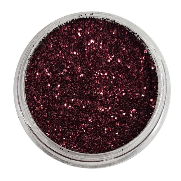 Burgundy Burp - Red Metallic Loose Fine Glitter