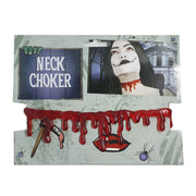 Halloween Dripping Blood Neck Choker