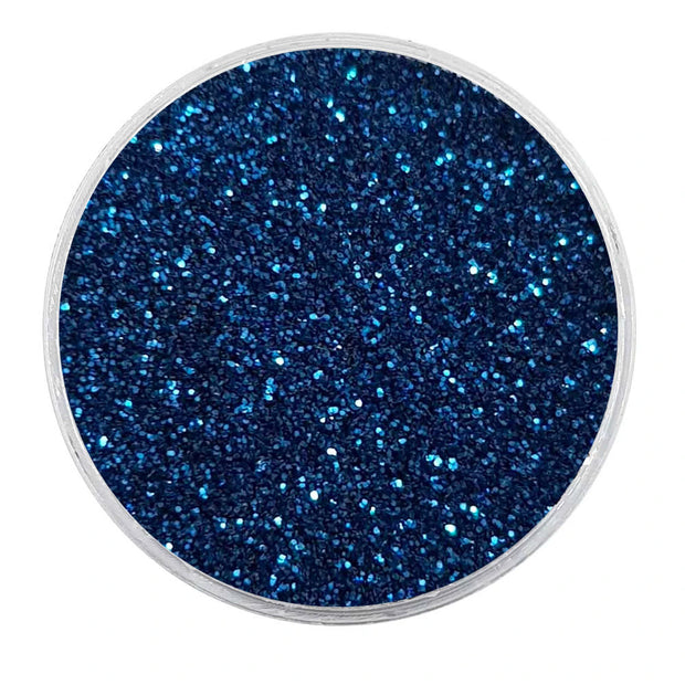 MUOBU Biodegradable Dark Blue Glitter - Fine Metallic Glitter