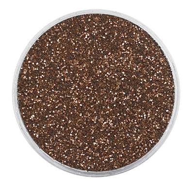MUOBU Biodegradable Dark Bronze Glitter - Fine Metallic Glitter