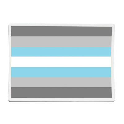 Demiboy Flag Rectangle Vinyl Waterproof Sticker