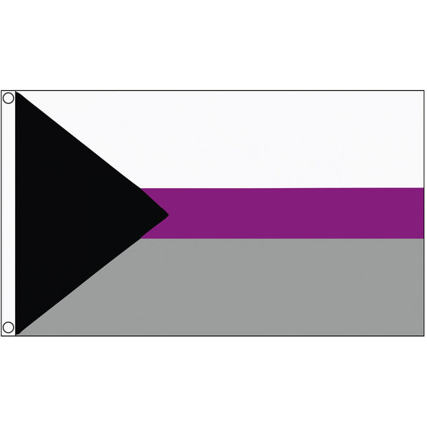 Demisexual Pride Flag (5ft x 3ft Premium)