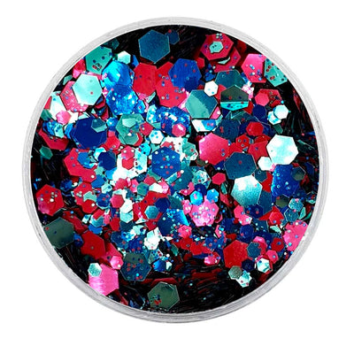 MUOBU Biodegradable Mixed Glitter - Metallic Festival Chunky Glitter Mix (BioEnchantment)