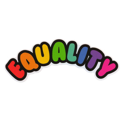 Equality Vinyl Sticker