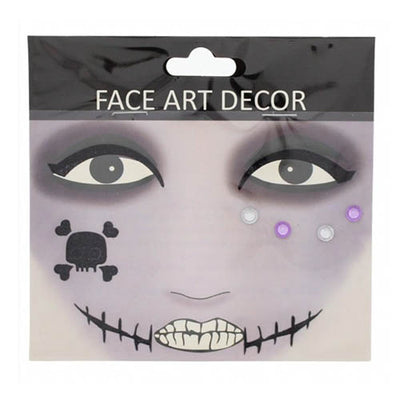 Halloween Face Stickers - Scar Mouth