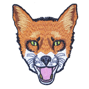 Fox Iron-On Festival Patch