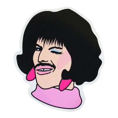 Freddie Mercury Vinyl Sticker